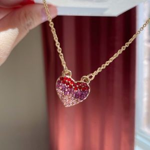 NWT Ombre Heart Necklace